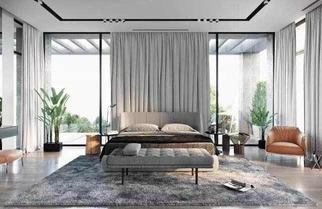簡約風格231平米大戶型臥室裝修設計圖片