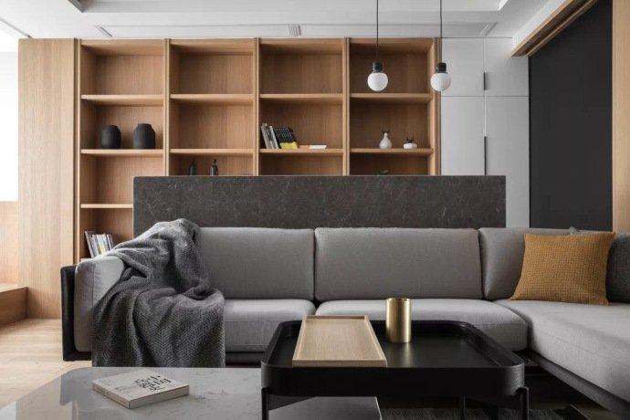 簡約風格91平米三居室客廳沙發裝飾圖片