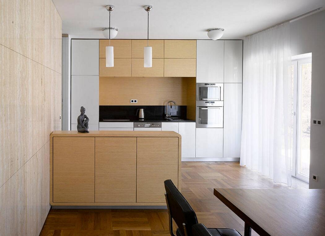 簡約風格獨立小別墅廚房裝修圖片
