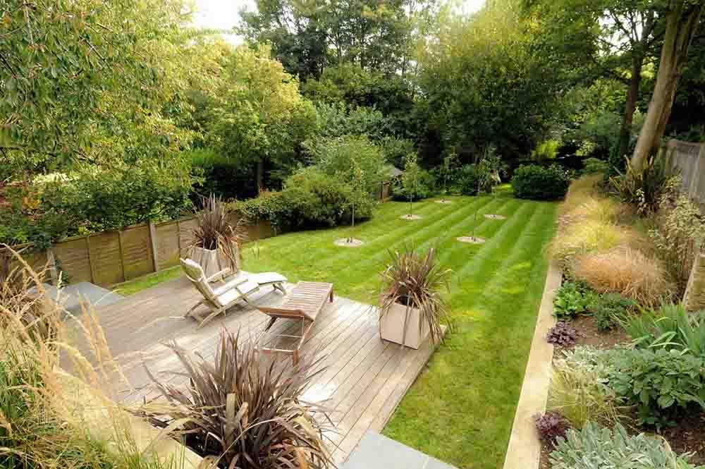 家裝別墅庭院綠化設計效果圖