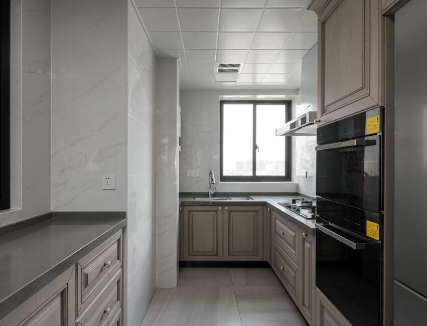 兩居樣板房整體廚房裝修設計圖大全