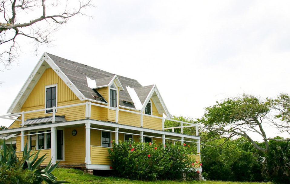美式獨棟別墅外墻顏色圖片