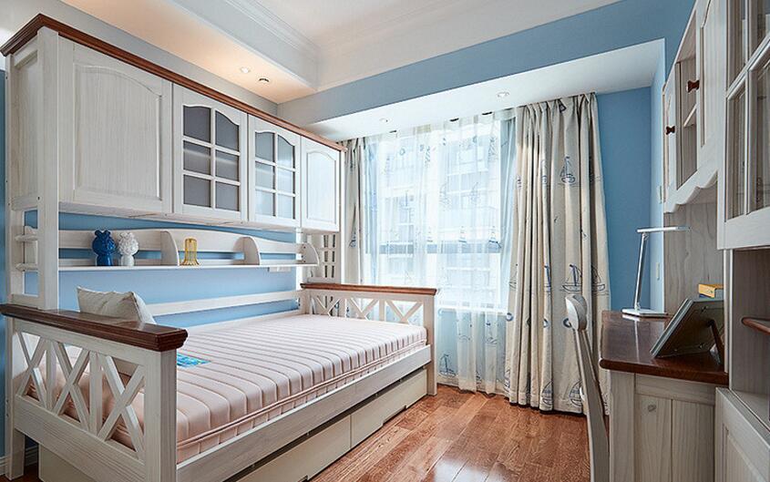 美式風格家裝兒童臥室家具設計效果圖片