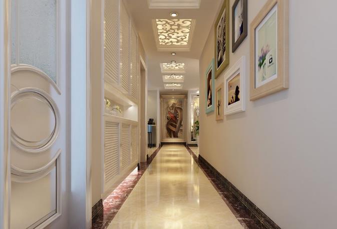 歐式裝修風格走廊裝修效果圖