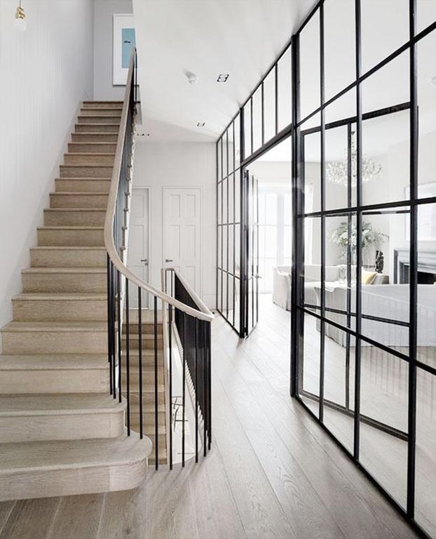 三層別墅室內玻璃房效果圖