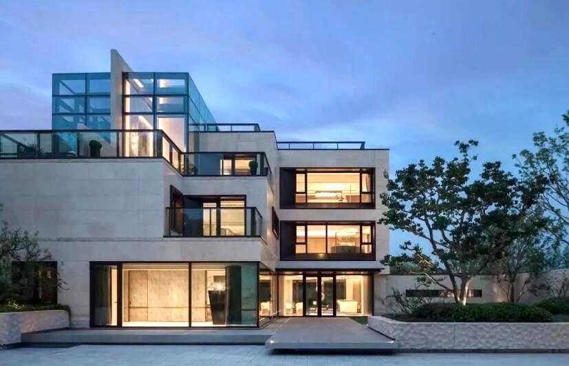 三層小別墅外觀造型設計裝潢案例圖片