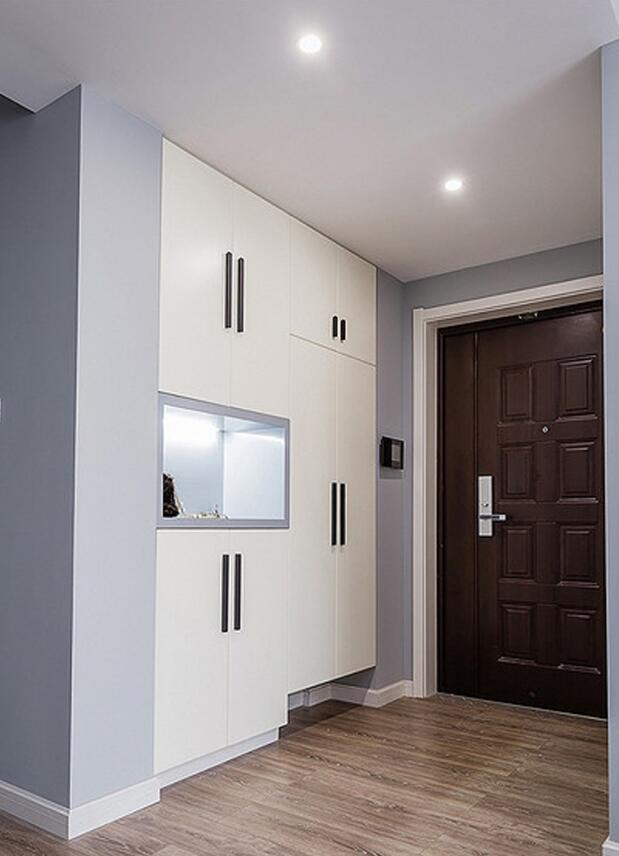 時尚歐式風格房屋玄關設計效果圖
