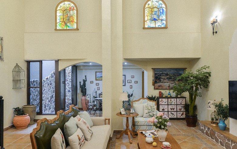 鄉村別墅裝修歐式室內裝修設計