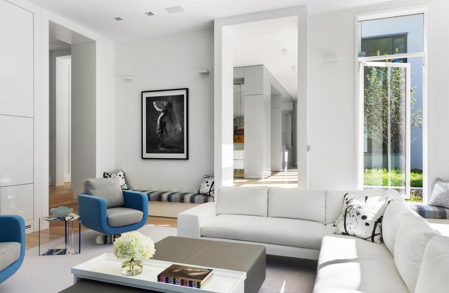 現代別墅客廳裝修設計