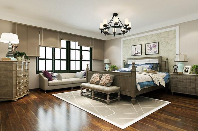 現代風格裝修設計臥室裝修效果圖