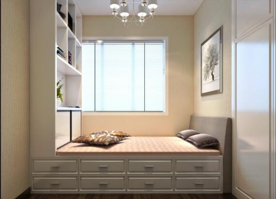 現代簡約風格160平米四居榻榻米房間裝修效果圖