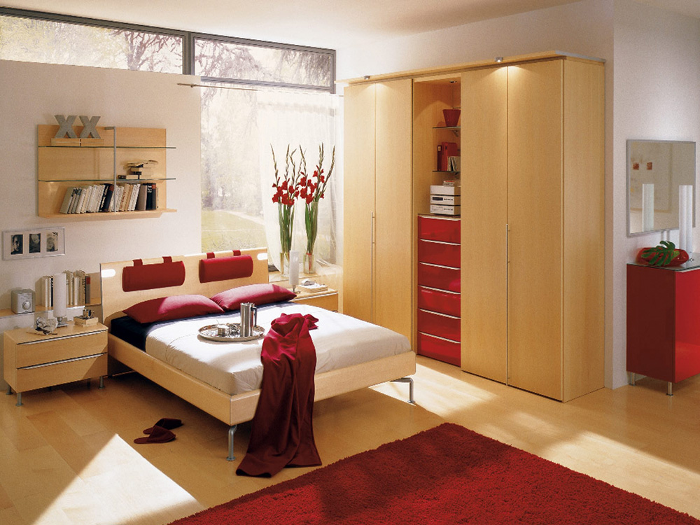 現代簡約風格別墅臥室衣柜門裝修效果圖