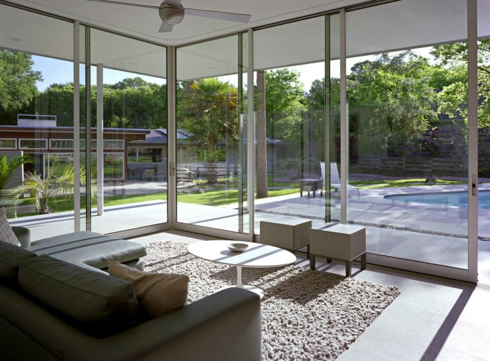 現代簡約風格別墅陽臺陽光房設計圖