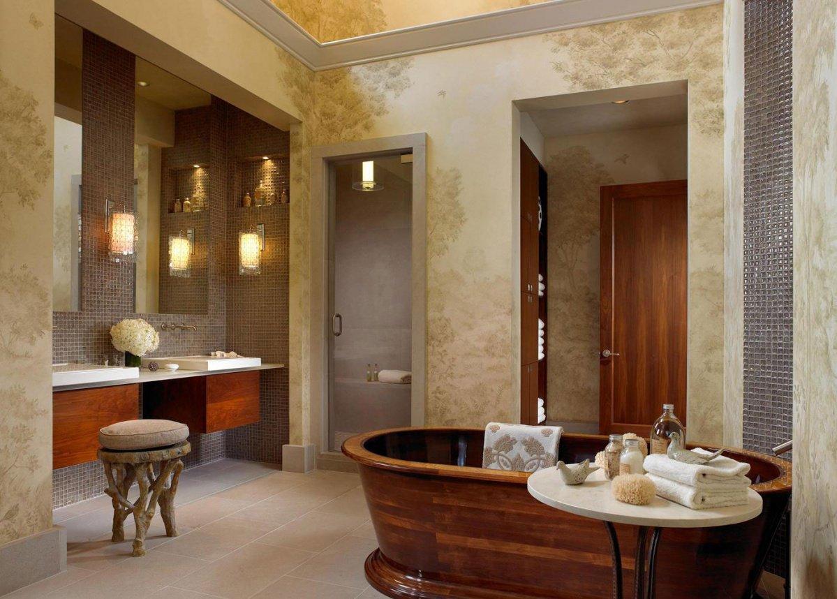 現代簡約混搭風格別墅衛生間瓷磚