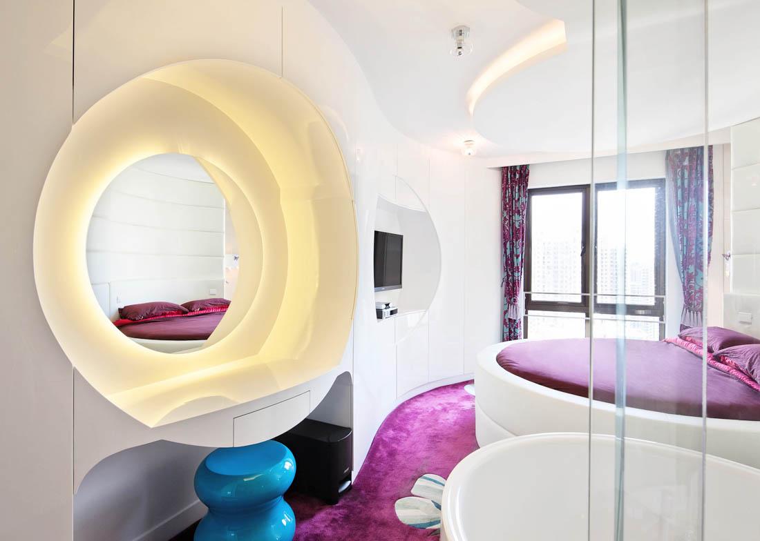 現代小戶型別墅整體設計效果圖