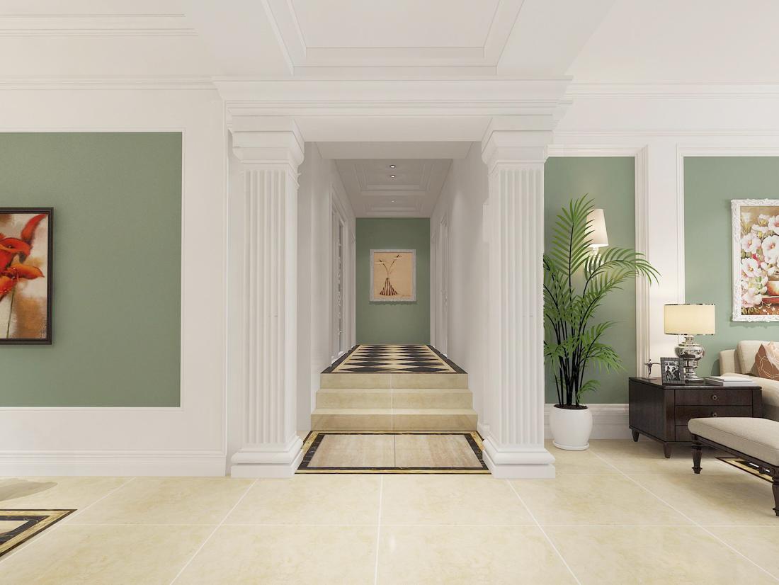 小戶型別墅室內客廳玄關設計裝修效果圖
