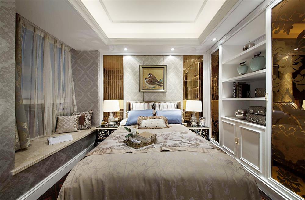 小戶型簡歐家居臥室榻榻米裝修圖片