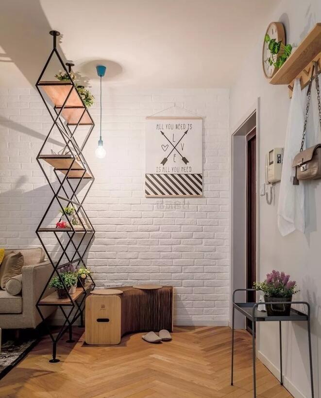 小戶型歐式風格房屋玄關創意設計效果圖