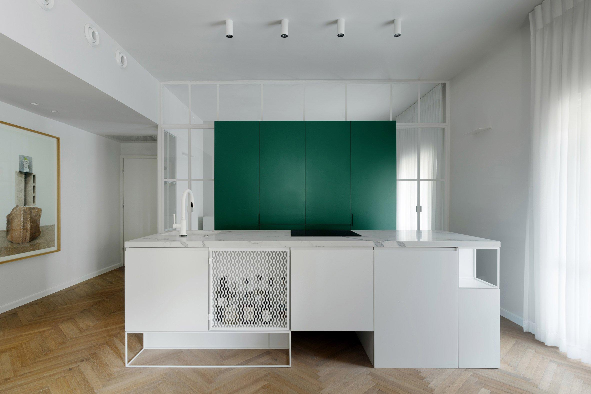 小戶型樣板房整體廚房裝修設計圖賞析