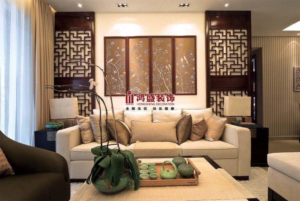 雍城世家120平中式風格案例