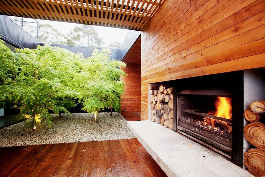最全木屋別墅庭院設計圖片