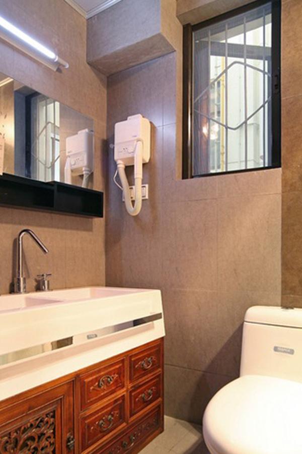 中式風格衛生間浴室柜裝修設計圖片