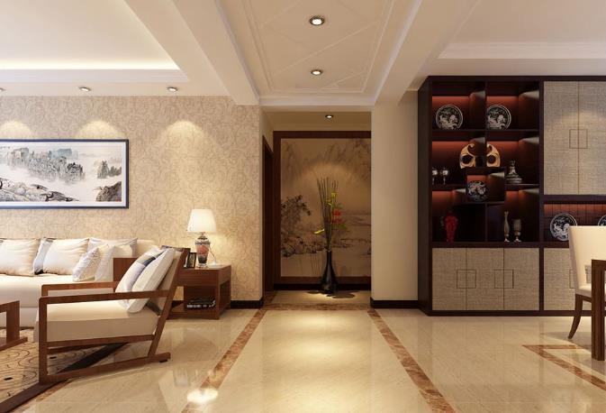 中式風格裝修設計玄關裝修