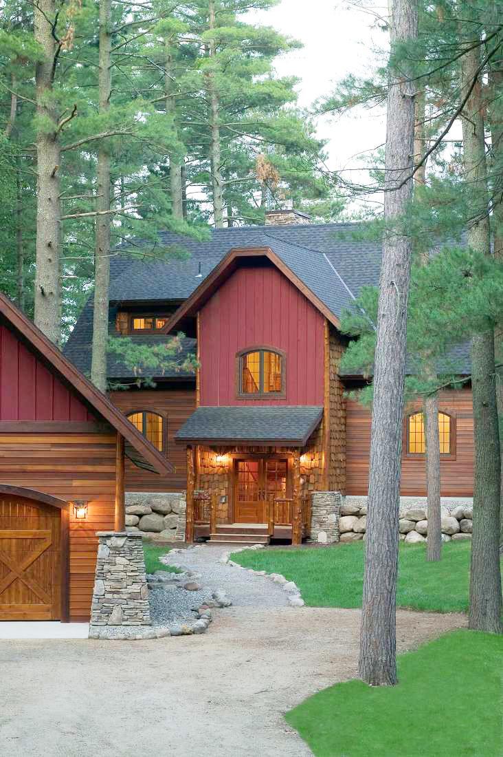 最新美式鄉村風格別墅外觀設計圖片欣賞